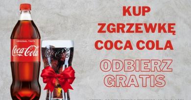 Kup zgrzewkę Coca-Cola i odbierz GRATIS