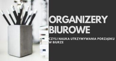 Organizery i pojemniki biurowe